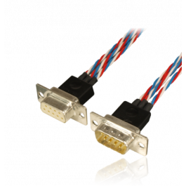"Cable set premium ""One4Three"" for 3 servos, Sub-D, 160cm"