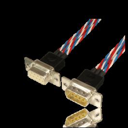 """Cable set premium """"One4Three"""" for 3 servos, Sub-D, 160cm"""