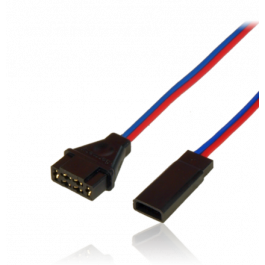 Adapter lead MPX female / JR male