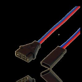 Adapter lead MPX female / JR male (1252/10)