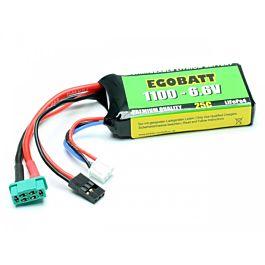 6.6V 1100mAh LiFe Battery Egobatt (25C)