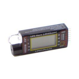 Pichler Lipo Alarm (LED & Buzzer)