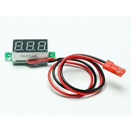 Volt Spy RX Digital 3 - 30V (connecteur BEC)
