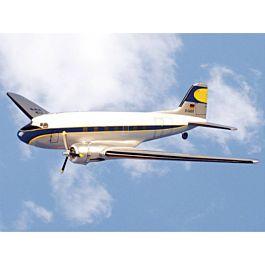 Pichler - Douglas DC-3 - 1800mm ARF kit (white/blue scheme)