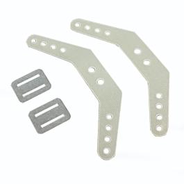 Pilot-RC - Rudder Horns (2 sets)