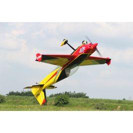 "Pilot RC Slick - 103"" (2.63m) ARF kit 01 geel/rood/zwart schema"