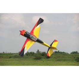 """Slick 74"""", Geel/Rood/Zwart ARF kit (Color 01)"""