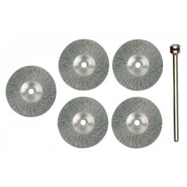 Proxxon 28956 Stainless steel wheels 22mm (5 pcs)