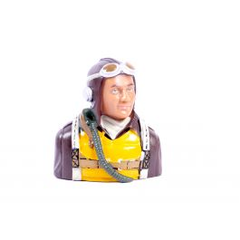 1/5 WWII American bust pilot