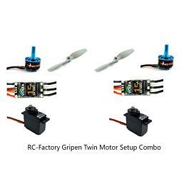 RC-Factory Equipment Set for Grippen (Twin Motor Setup)