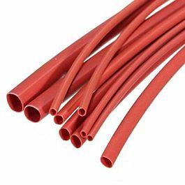 Shrinking tube 6.4mm red (1m)