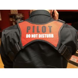 Neckstrap for tray Pilot do not disturb
