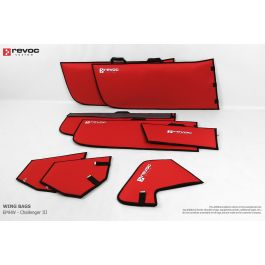 Revoc bags for EMHW Challenger II 2.2m (wings only) Yellow color