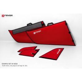 Vleugelhoezen voor CARF Joker, premium line, Rood