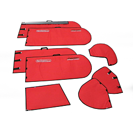 Housses d'aile EMHW Pitts 3m (Ailes & Stabs) Rouge