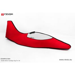 Premium Fuselage bag for Sebart PC-21 XL 2.2m, red color