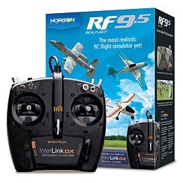 RF9.5 Flight Simulator with Interlink Controller