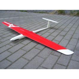 Snipp 2.0, 1300mm GFK glider