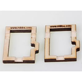 Robbe CNC mounting frame for FS 122 BB MG HV (1 pair)