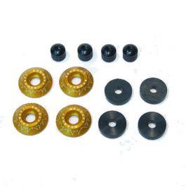 M4 Canopy lock V1 (4pcs) GOLD