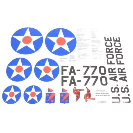 Stickerset US Air Force