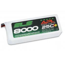SLS APL 8000MAH 6S1P 22,2V 25C+/40C