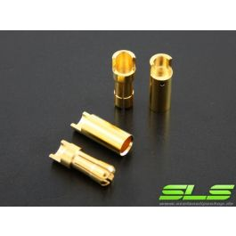 SLS Gold contacts 5.5mm (1 pair)