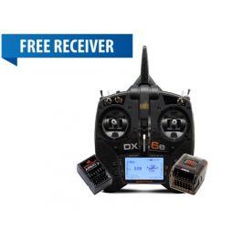 DX6e 6CH System with AR620 + FREE AR610