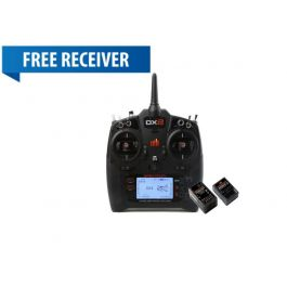 Spektrum DX8 G2 8CH w AR8010T Receiver + FREE AR610