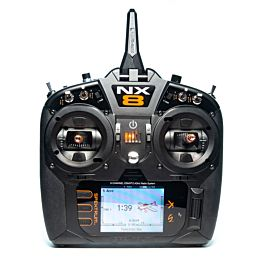 Spektrum NX8 8 channel radio with AR8020T receiver