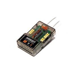 Spektrum AR8020T DSMX 8-Channel Telemetry Receiver