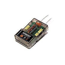Spektrum AR8020T DSMX 8-Channel Telemetry Receiver