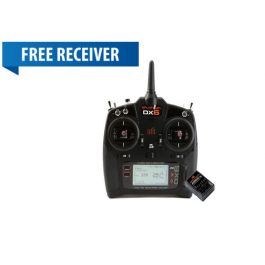 DX6 V2 radio only (G3) + FREE AR610