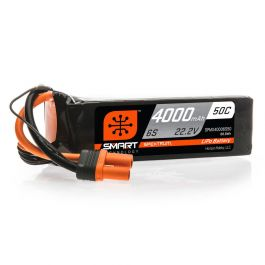Spektrum 4000mAh 22.2V 6S 50C Smart Lipo Battery