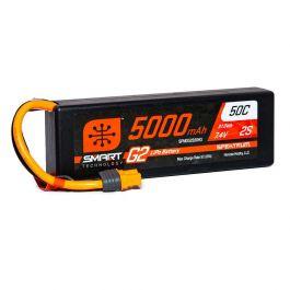 5000mAh 2S 7.4V Smart G2 LiPo 50C Hard Case, IC3
