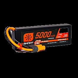 5000mAh 2S 7.4V Smart G2 LiPo 50C Hard Case, IC5