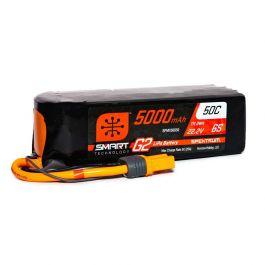 5000mAh 6S 22.2V Smart G2 LiPo 50C, IC5