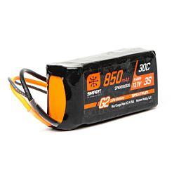 850mAh 3S 11.1V Smart G2 LiPo 30C, IC2
