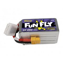 Tattu Funfly 1300mAh 6S 22.2V 100C Batterij