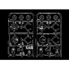 Tamiya Super Levant, pièces d'amortisseur mini CVA (V1-V11)