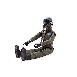 1/6 Fullbody Jet Pilot with helmet (Green uniform)