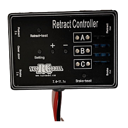 TopRC Model - Controlleur pour Train Rentrant & frein