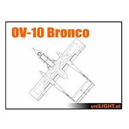 Unilight - Civil/Sport Bundle OV-10 Bronco size 1:5 (Ca 2,4m)