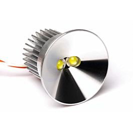 Unilight - 40mm Ultra-Power-Spotlight, 16Wx2, T-FUSE