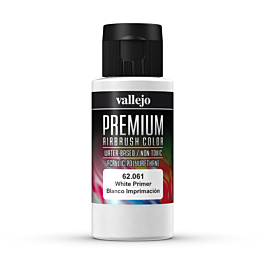 Premium Color White Primer 60 ml.