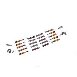 Titanium RC - Combo Brass Clevis Collets M3 (10 pcs)