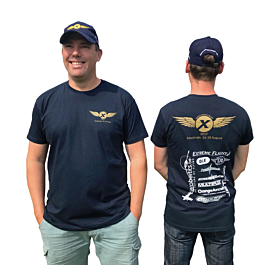 Wings over Europe 2019 T-shirt - SMALL