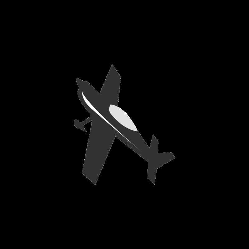 "Servo Double Arm 4"" tapped M3, Futaba Black"