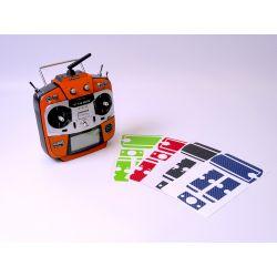 18SZ Stickerset orange carbon