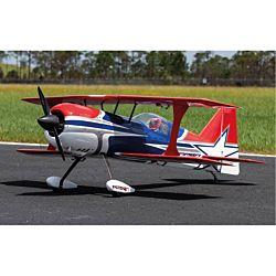 Premier Aircraft Mamba 120CC ARF Biplane - Bleu (FPM1700)